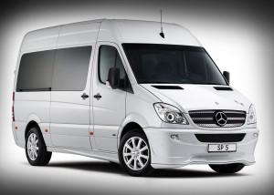 Для трансфера TFR берет два Mercedes Sprinter